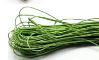 80 Metres of Green Waxed Cord 1mm